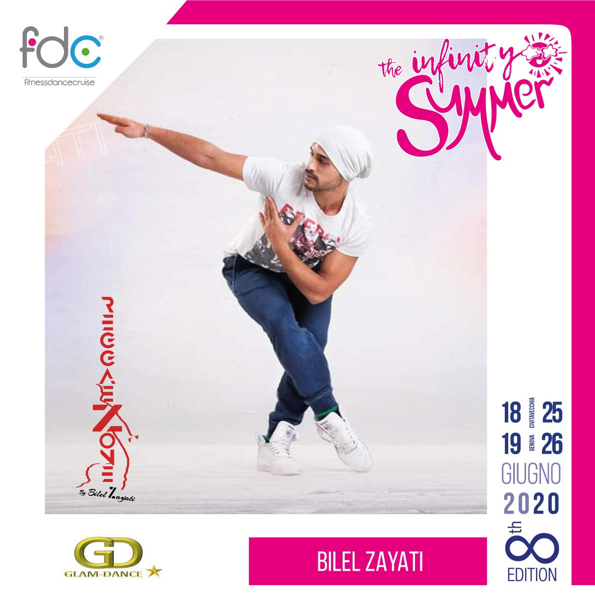 Glam Dance FDC Presenter Bilel Zayati