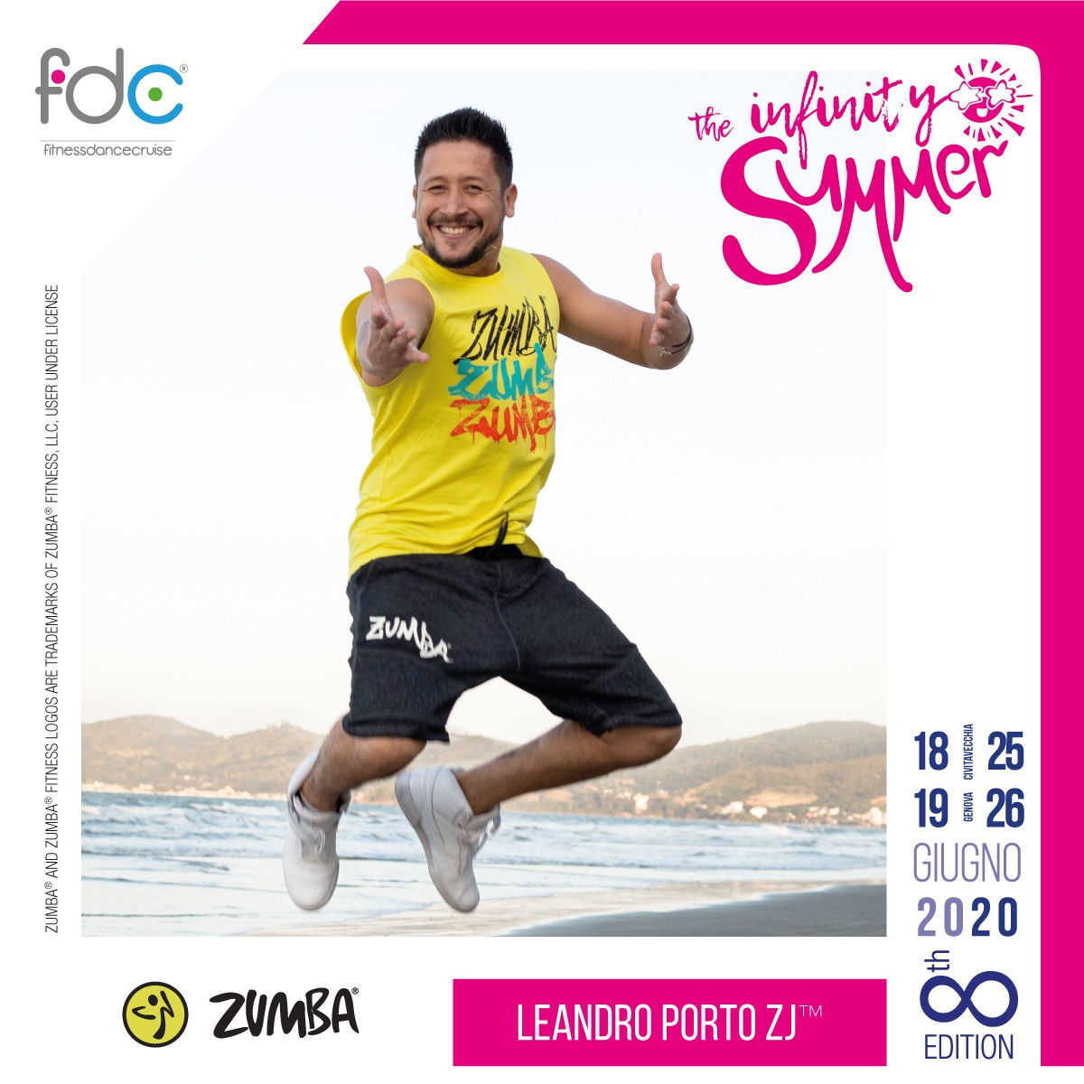 Zumba FDC Presenter Leandro Porto