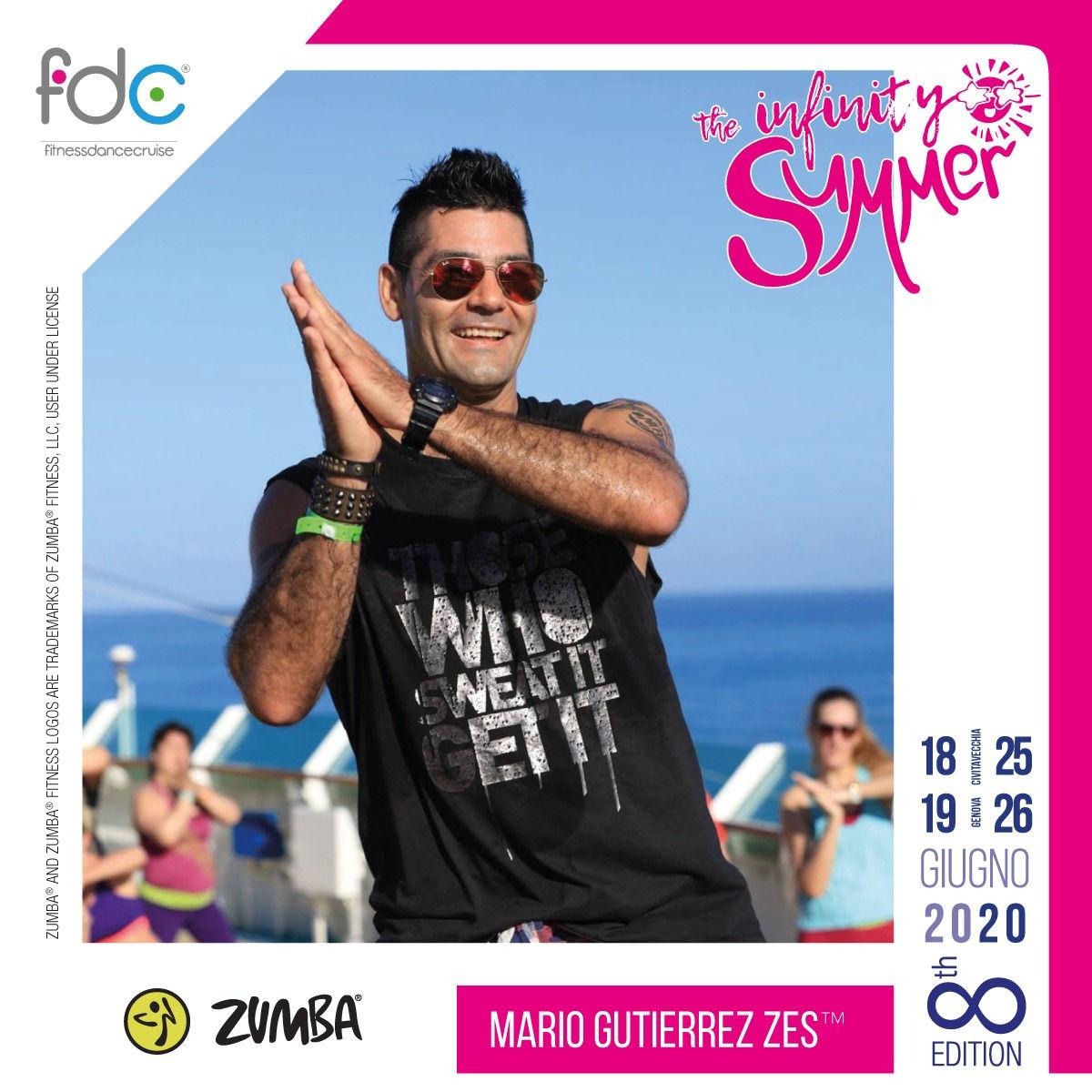 Zumba FDC Presenter Mario Gutierrez ZES