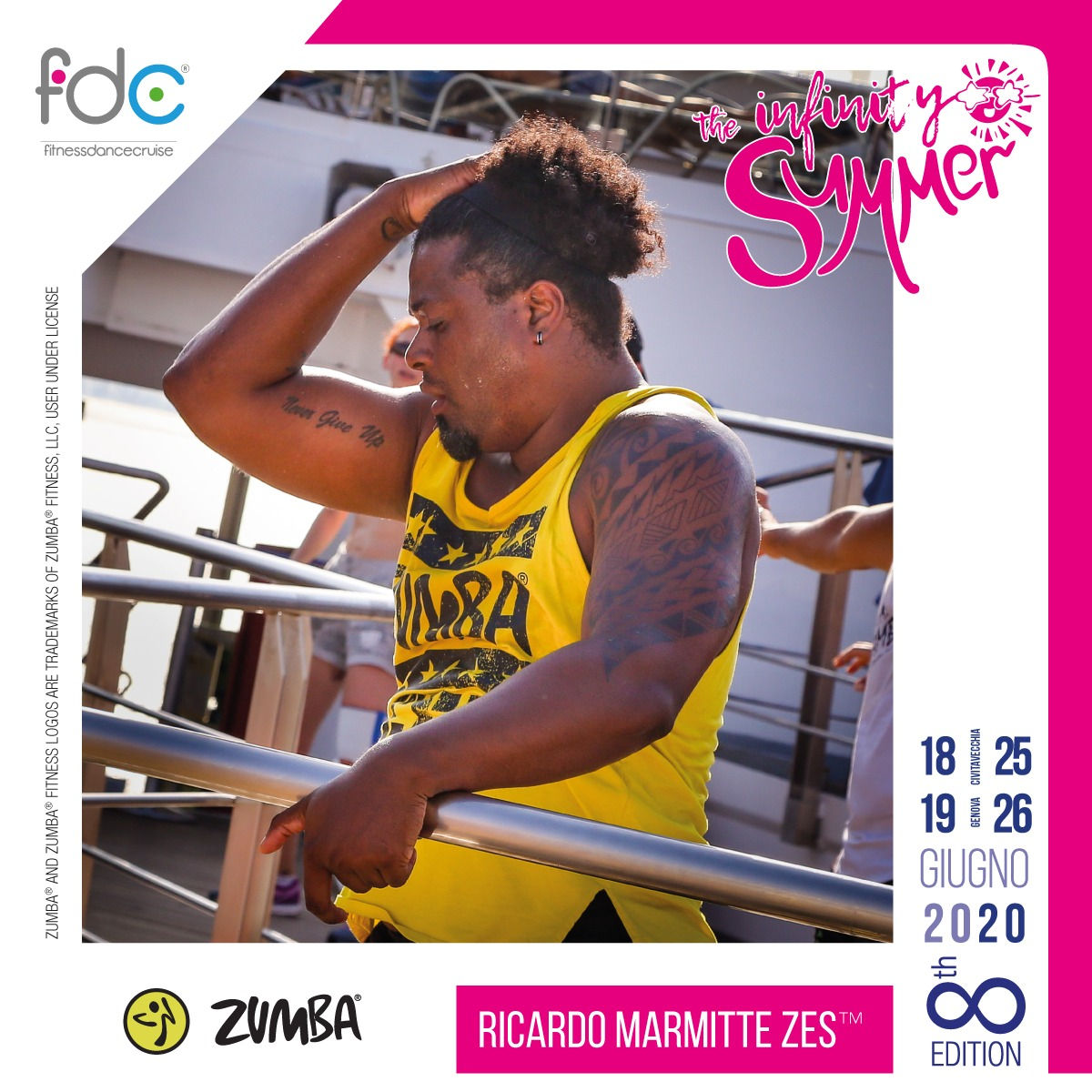 Zumba FDC Presenter Ricardo Marmitte